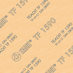 TF1590 - PTFE Gasket Sheet with Silica Filler